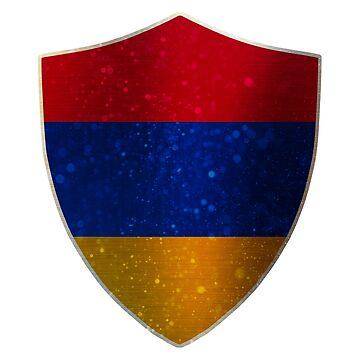 Armenia Flag Shield by ockshirts