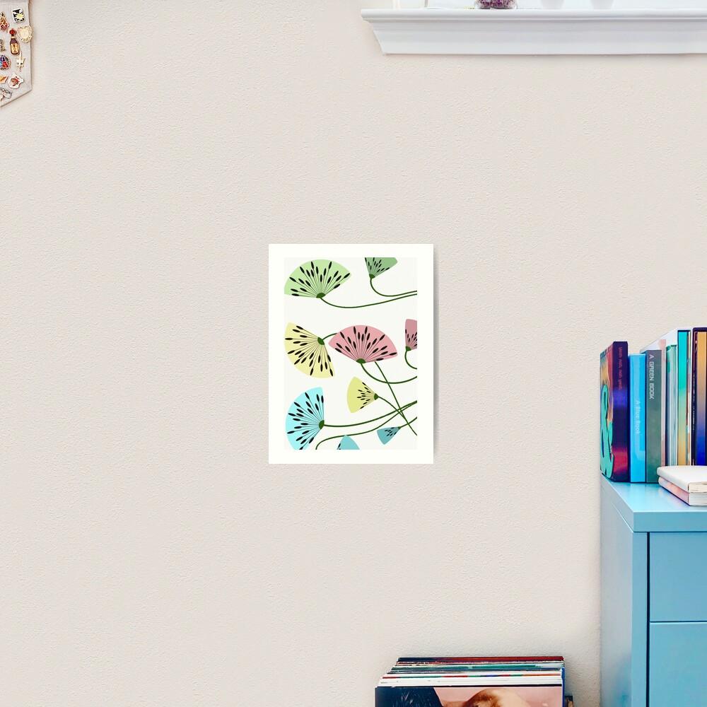 Dandyflowers - White Art Print