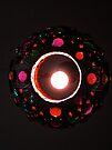 Jeweled Lamp by Jen Waltmon