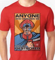 M. Bison Pop Art Street Fighter II T-Shirt