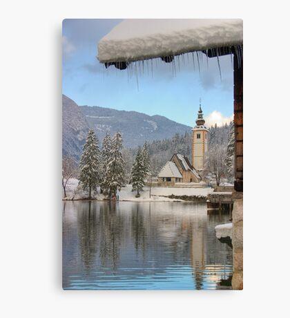 Clear alpine air Canvas Print