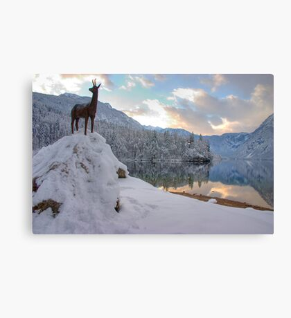 Alpine moods Canvas Print