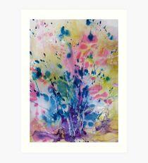 A Splash of Spring Art Print