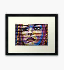 Corrugated Thoughts Framed Print