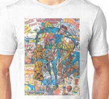 Vintage Comic Fantastic Four Unisex T-Shirt