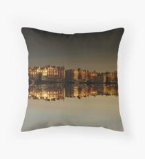 Reflections of Amsterdam - Morning Gold Throw Pillow