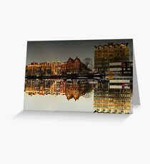 Reflections of Amsterdam - Administration Greeting Card
