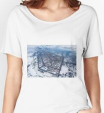 Norilsk,  Aerial Photography Relaxed Fit T-Shirt