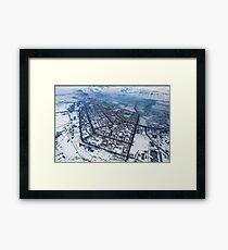 Norilsk,  Aerial Photography Framed Print