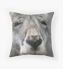 The nose Throw Pillow