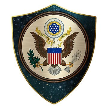 USA Coat of Arms by ockshirts