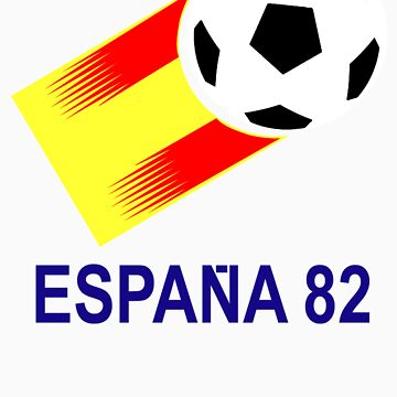 A Casual Classic iconic Espana 82 inspired t-shirt design  by dylanmccarthy