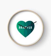 Seattle Emerald Heart Clock