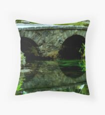 A Rock Bridge in the Country ^ Throw Pillow