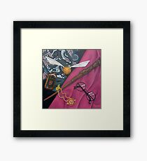 A Wizard's Tools Framed Print