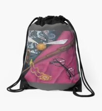 A Wizard's Tools Drawstring Bag