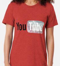 Pastel Sky YouTube Logo Tri-blend T-Shirt