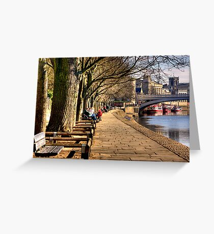 By The Riverside Greeting Card