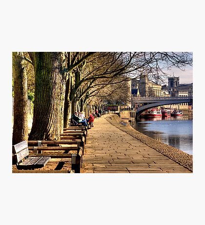 By The Riverside Photographic Print