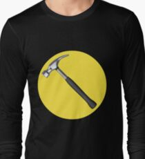 captain hammer symbol Long Sleeve T-Shirt