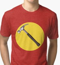 captain hammer symbol Tri-blend T-Shirt