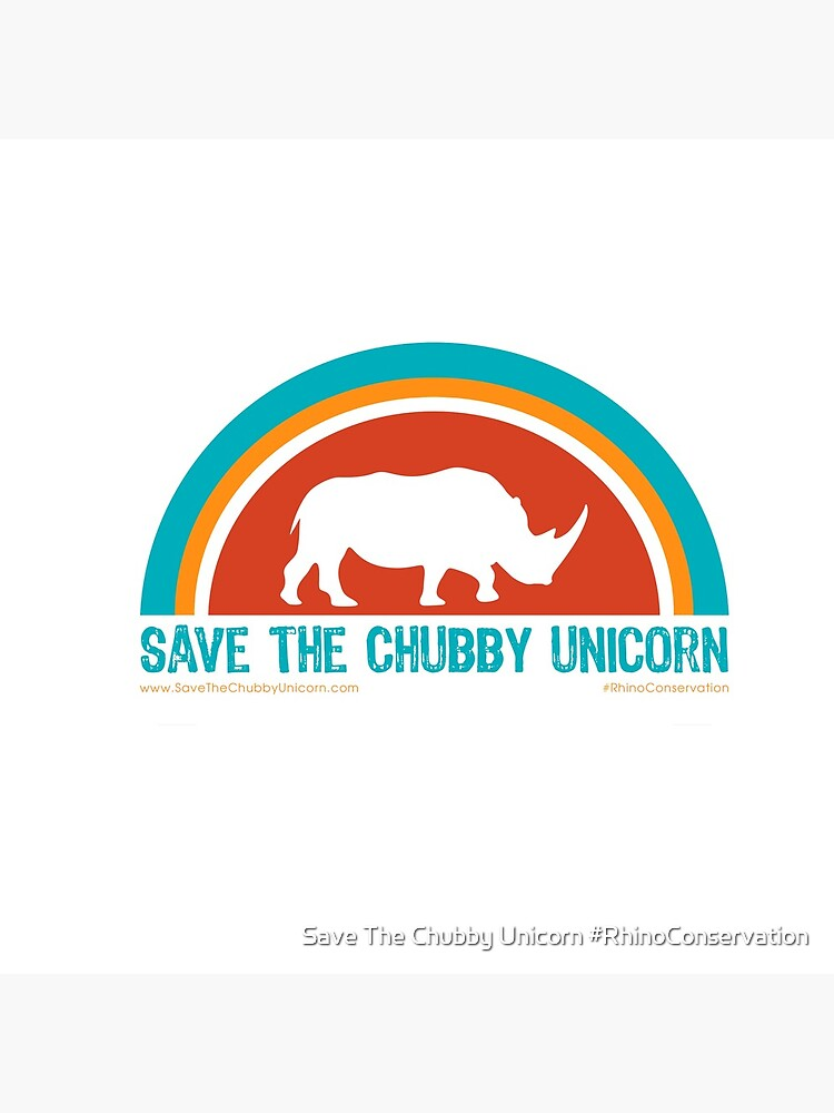 Save The Chubby Unicorn Arches Design by everymedia