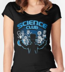 Science Club Women's Fitted Scoop T-Shirt