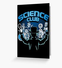 Science Club Greeting Card