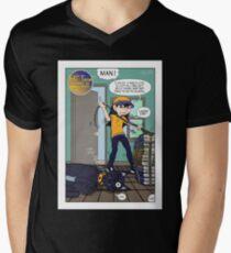 Hi' Tone I wish I was a Cat Men's V-Neck T-Shirt