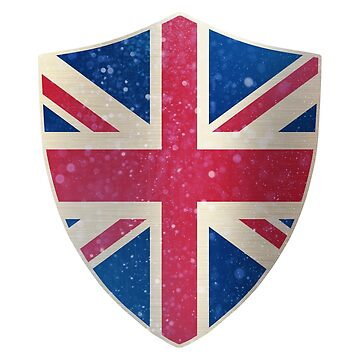 United Kingdom Flag Shield by ockshirts