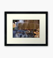 Finlay Park Fountain Framed Print