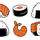 « nomnom sushi » par Ophélie Salomé