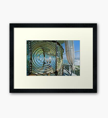 Working End of a Lighthouse Framed Print