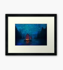 Our Secret Harbor Framed Print