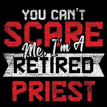Priest pensioner by GeschenkIdee