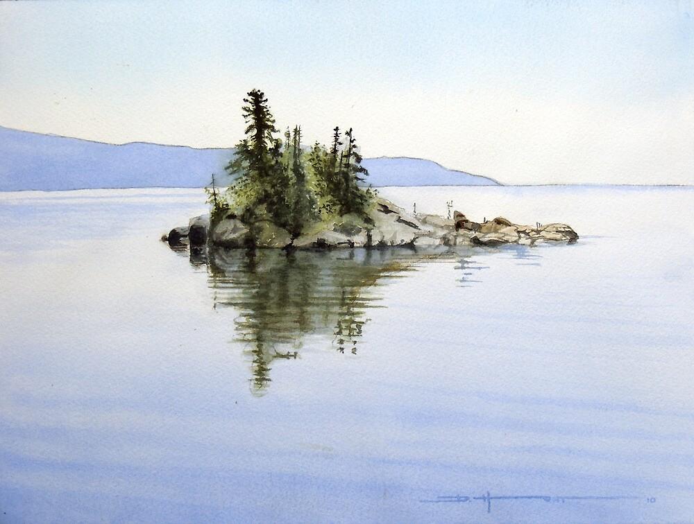 Caron Island by Douglas Hunt