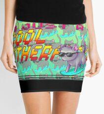 Cool Cat Slick Mini Skirt