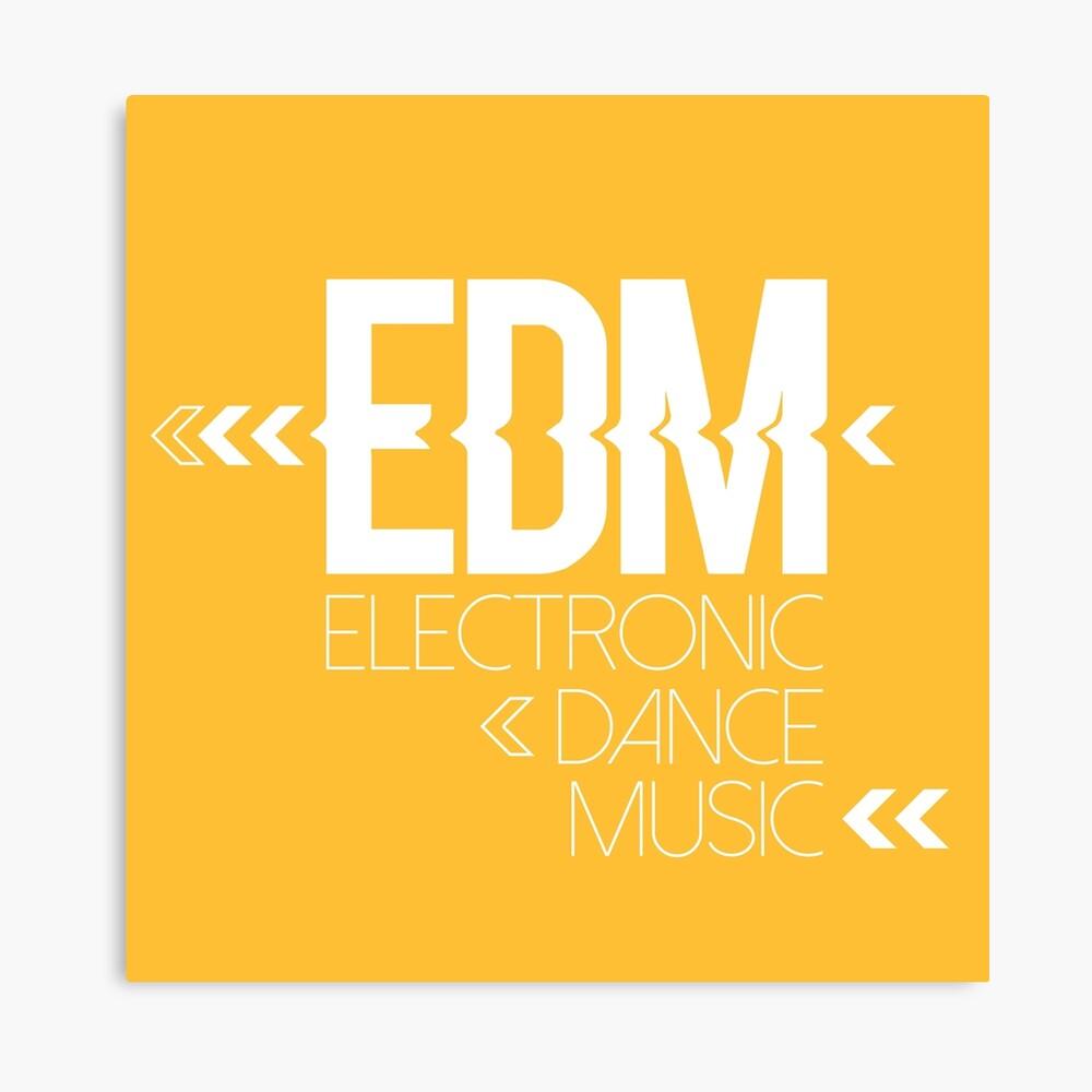 EDM passion Lienzo