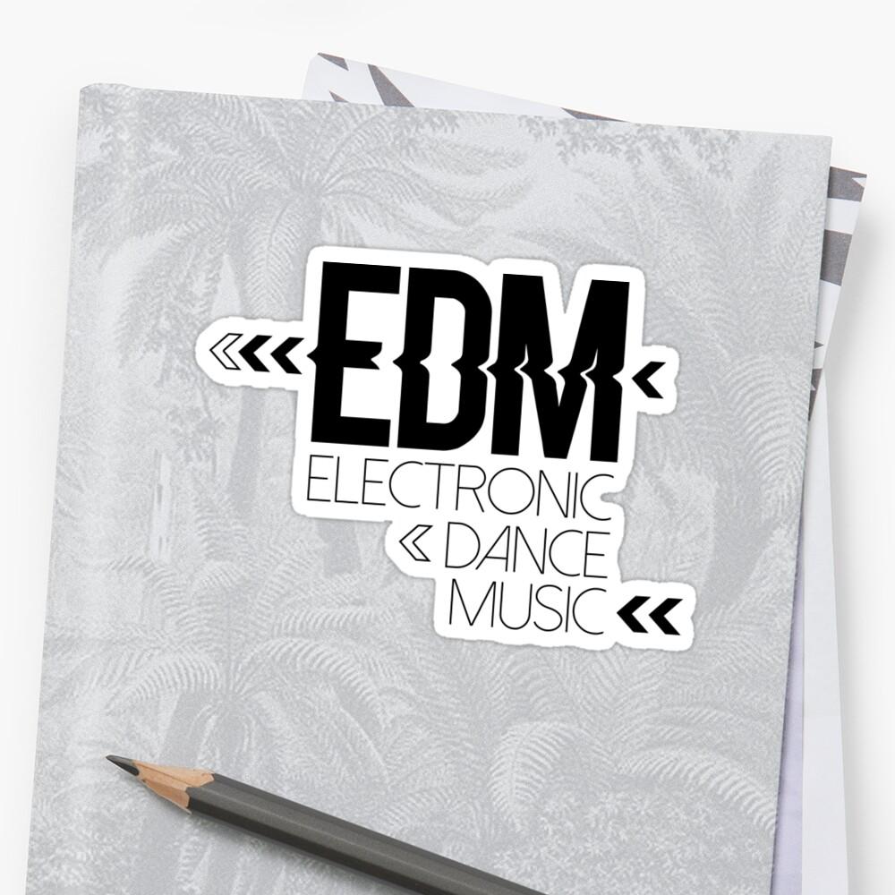 EDM passion Pegatina