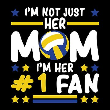 Volleyball Mom Mothers Day Apparel Gift by CustUmmMerch