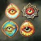 The eyes have it pendants by mystapring