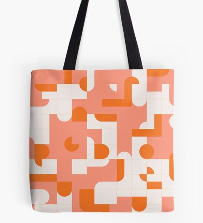 Puzzle Tiles #redbubble #pattern Tote Bag