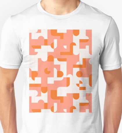 Puzzle Tiles #redbubble #pattern T-Shirt