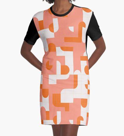 Puzzle Tiles #redbubble #pattern Graphic T-Shirt Dress
