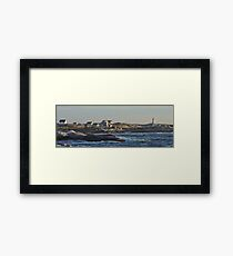 Peggy's Cove Panoramic 2 Framed Print