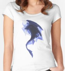 Diamond toothless Women's Fitted Scoop T-Shirt