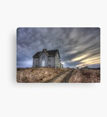 Abandoned House, Pembrook Nova Scotia Canvas Print
