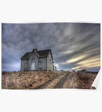 Abandoned House, Pembrook Nova Scotia Poster