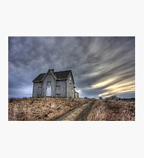 Abandoned House, Pembrook Nova Scotia Photographic Print