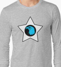 Bald Eagle (Blue) T-Shirt Long Sleeve T-Shirt